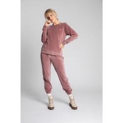 Îmbracaminte Femei Pulovere Lalupa LA011 Pulover cu mâneci Reglan din catifea - crep roz