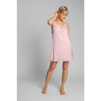 Îmbracaminte Femei Pijamale și Cămăsi de noapte Lalupa LA031 Cămașă din viscoză - roz