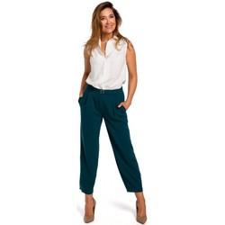 Îmbracaminte Femei Pantalon 5 buzunare Style S172 Cămașă fără mâneci - ecru