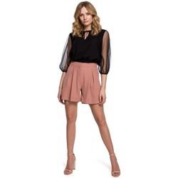 Îmbracaminte Femei Pantaloni scurti și Bermuda Makover K049 Pantaloni scurți relaxați - roz