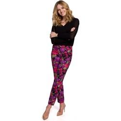 Îmbracaminte Femei Pantaloni  Makover K053 Pantaloni cu picior subțire cu imprimeu - model 2