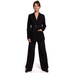 Îmbracaminte Femei Sacouri de costum Be B159 Blazer cu centură cu cataramă - maro