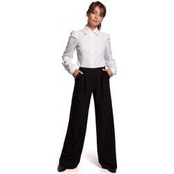 Îmbracaminte Femei Pantaloni  Be B164 Pantaloni cu picior larg - negru