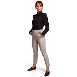 Îmbracaminte Femei Cămăși și Bluze Be B165 Cămașă cu mâneci bufante - negru