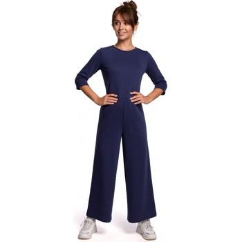 Îmbracaminte Femei Jumpsuit și Salopete Be B174 Salopeta cu picior larg - albastru