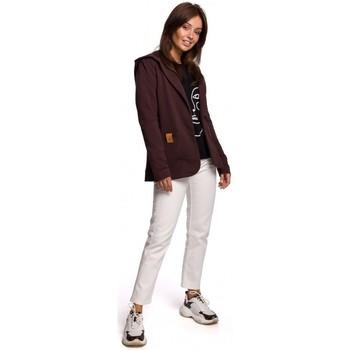 Îmbracaminte Femei Sacouri și Blazere Be B180 Blazer cu glugă din bumbac cu glugă - maro