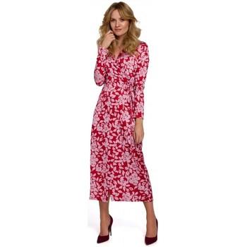 Îmbracaminte Femei Rochii lungi Makover K083 Rochie cu imprimeu floral - model 2