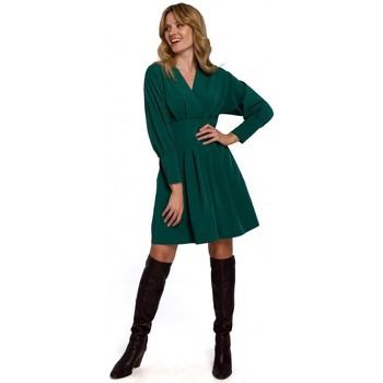 Îmbracaminte Femei Rochii scurte Makover K087 Rochie cu mâneci kimono - verde