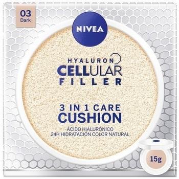 Frumusete  Femei Hidratant&hranitor Nivea HYALURON CELLULAR FILLER 3IN1 CARE CUSHION 03-DARK 15GR