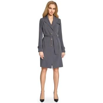 Îmbracaminte Femei Trenciuri Style S094 Trench coat - gri