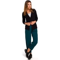 Îmbracaminte Femei Jerseuri și Cardigane Style S198 Cardigan cu butoni cu presiune - negru