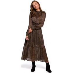 Îmbracaminte Femei Rochii lungi Style S239 Rochie creion cu centură cu cravată - negru