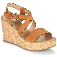 Pantofi Femei Sandale  NeroGiardini JIPPO Coniac