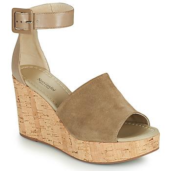 Pantofi Femei Sandale  NeroGiardini NORWAY Taupe