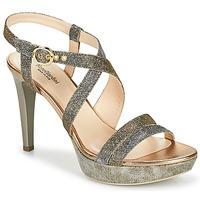Pantofi Femei Sandale  NeroGiardini KARKI Gri / Auriu