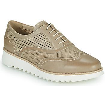 Pantofi Femei Pantofi Derby NeroGiardini SUZZE Bej