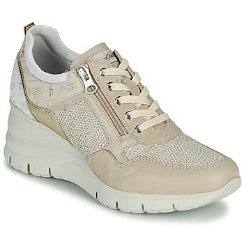 Pantofi Femei Pantofi sport Casual NeroGiardini FLORA Bej / Auriu