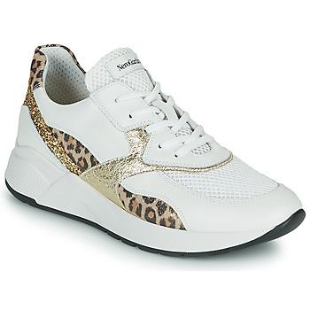 Pantofi Femei Pantofi sport Casual NeroGiardini FIDEL Alb / Leopard