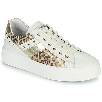 Pantofi Femei Pantofi sport Casual NeroGiardini MANO Alb / Leopard