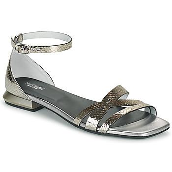 Pantofi Femei Sandale  NeroGiardini TOMMA Argintiu
