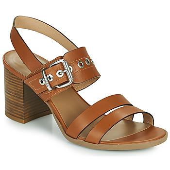 Pantofi Femei Sandale  NeroGiardini GHILLO Coniac