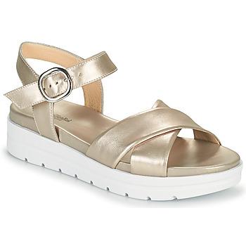 Pantofi Femei Sandale  NeroGiardini LONELESS Auriu