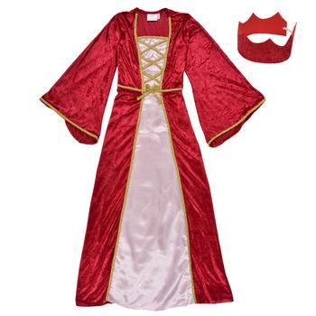 Îmbracaminte Fete Deghizări Fun Costumes COSTUME ENFANT REINE DE LA RENAISSANCE Multicolor