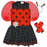 Îmbracaminte Fete Deghizări Fun Costumes COSTUME ENFANT BIRDIE BEETLE Multicolor