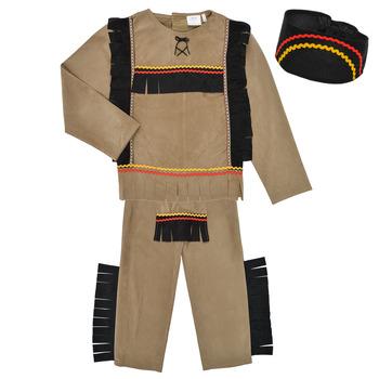 Îmbracaminte Băieți Deghizări Fun Costumes COSTUME ENFANT INDIEN BIG BEAR Multicolor