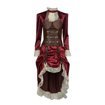 Îmbracaminte Femei Deghizări Fun Costumes COSTUME ADULTE LADY STEAMPUNK Multicolor