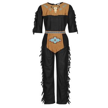 Îmbracaminte Bărbați Deghizări Fun Costumes COSTUME ADULTE INDIENNE SHE-WOLF Multicolor