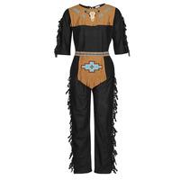 Îmbracaminte Bărbați Deghizări Fun Costumes COSTUME ADULTE INDIEN NOBLE WOLF Multicolor