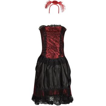 Îmbracaminte Femei Deghizări Fun Costumes COSTUME ADULTE SALOON GIRL Multicolor