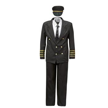 Îmbracaminte Bărbați Deghizări Fun Costumes COSTUME ADULTE PILOTE Multicolor