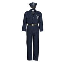Îmbracaminte Bărbați Deghizări Fun Costumes COSTUME ADULTE OFFICIER DE POLICE Multicolor