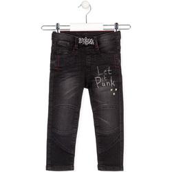 Îmbracaminte Copii Jeans drepti Losan 025-6029AL Negru