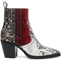 Pantofi Femei Ghete Steve Madden SMSGENIVA-BRGGRY Negru