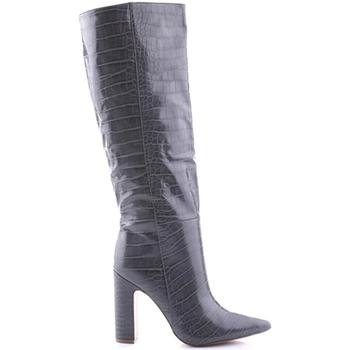Pantofi Femei Ghete Steve Madden SMSROUGE-GRYCRO Gri