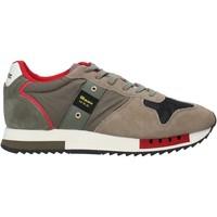 Pantofi Bărbați Sneakers Blauer F0QUEENS01/CAM Verde