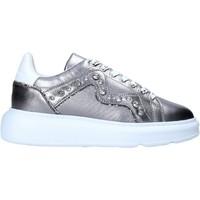 Pantofi Femei Sneakers Manila Grace S016LW Argint