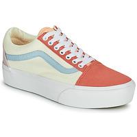 Pantofi Femei Pantofi sport Casual Vans OLD SKOOL PLATFORM Alb / Roz