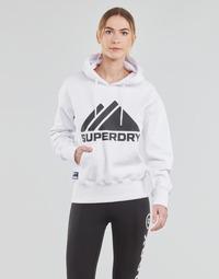 Îmbracaminte Femei Hanorace  Superdry MOUNTAIN SPORT MONO HOOD Alb