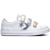 Pantofi Copii Pantofi sport Casual Converse Star player 3v ox Alb