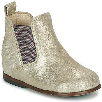 Pantofi Fete Ghete Little Mary ARON Argintiu