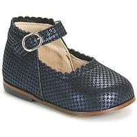 Pantofi Fete Balerin și Balerini cu curea Little Mary VOCALISE Albastru