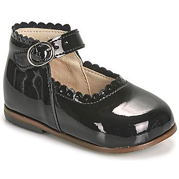 Pantofi Fete Balerin și Balerini cu curea Little Mary VOCALISE Negru