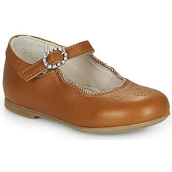 Pantofi Fete Balerin și Balerini cu curea Little Mary AUBERIE Maro