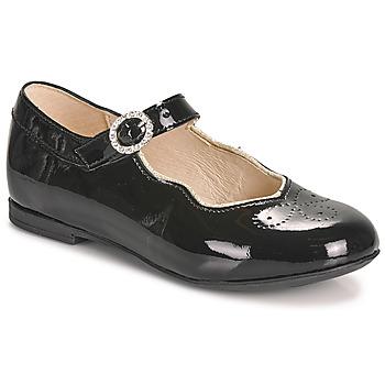 Pantofi Fete Balerin și Balerini cu curea Little Mary AUBERIE Negru