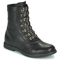 Pantofi Fete Ghete Little Mary LYSIANE Negru