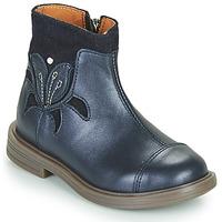 Pantofi Fete Ghete Little Mary ELIANE Albastru